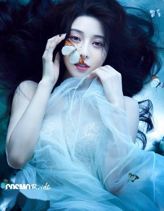 范冰冰挑战新妆容,欧式双眼皮和上唇一样宽,太夸张了