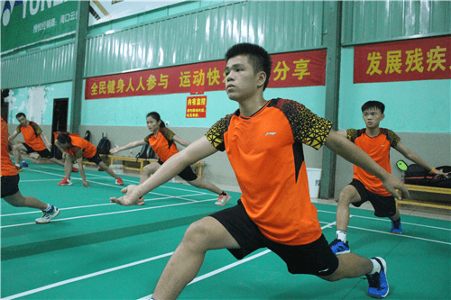 海南残疾人运动员开展集训 备战全国残运会