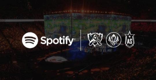 Spotify获英雄联盟音频独家经营权 在游戏中拥有一块专属广告牌