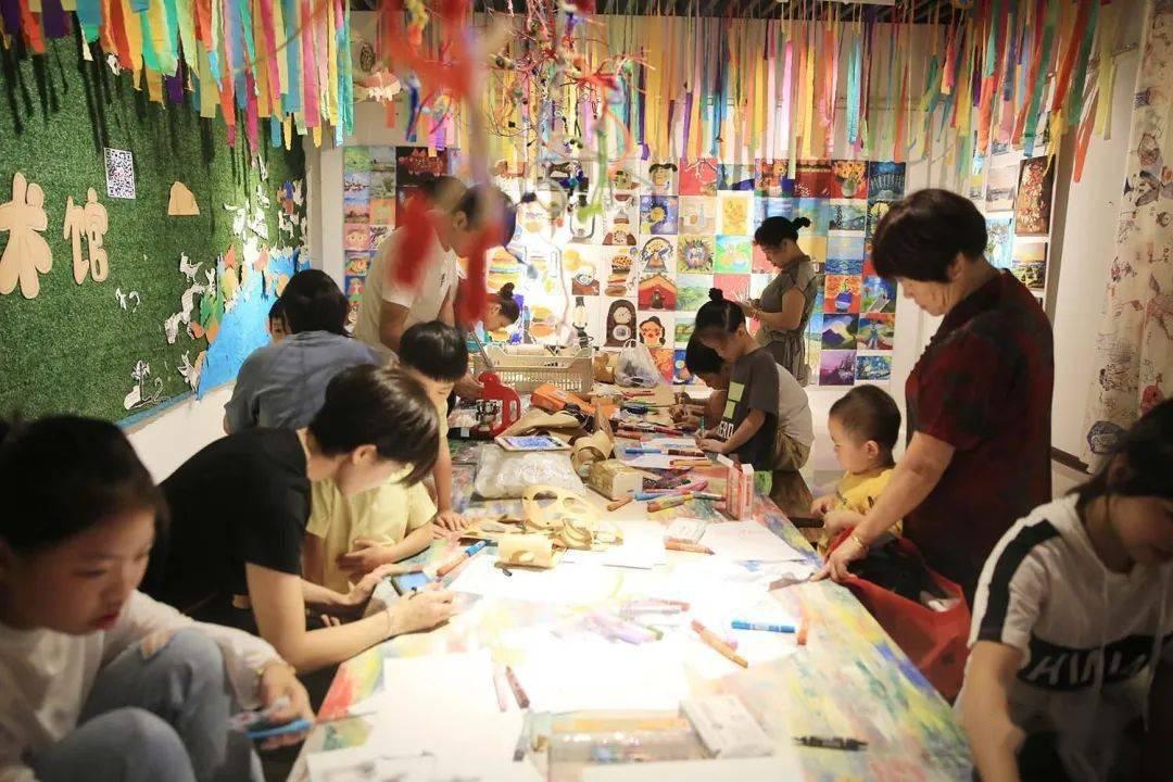 县博物馆举办第一届少儿美术展览