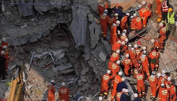 """泉州欣佳酒店""""37""""坍塌事故调查报告出炉:23人被采取强制措施,49公职人员被追责"""