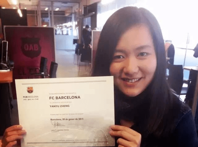 她的第一份任务,从巴塞罗那俱乐部开端|体育职人圈