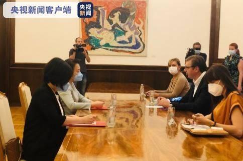 塞尔维亚总裁武契奇:和中国保持真诚的