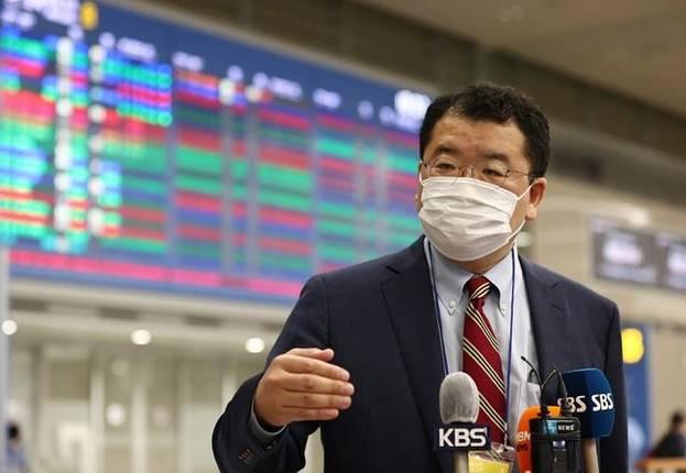 外交部副部长韩国结束了与美国的会晤,强调了