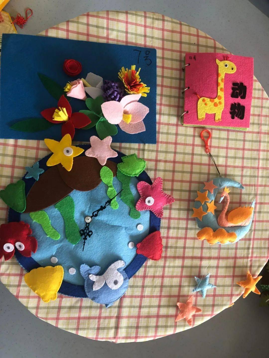 亲子齐聚力,巧手助成长 记浉河区幼儿园大班组暑假亲子作品展图片