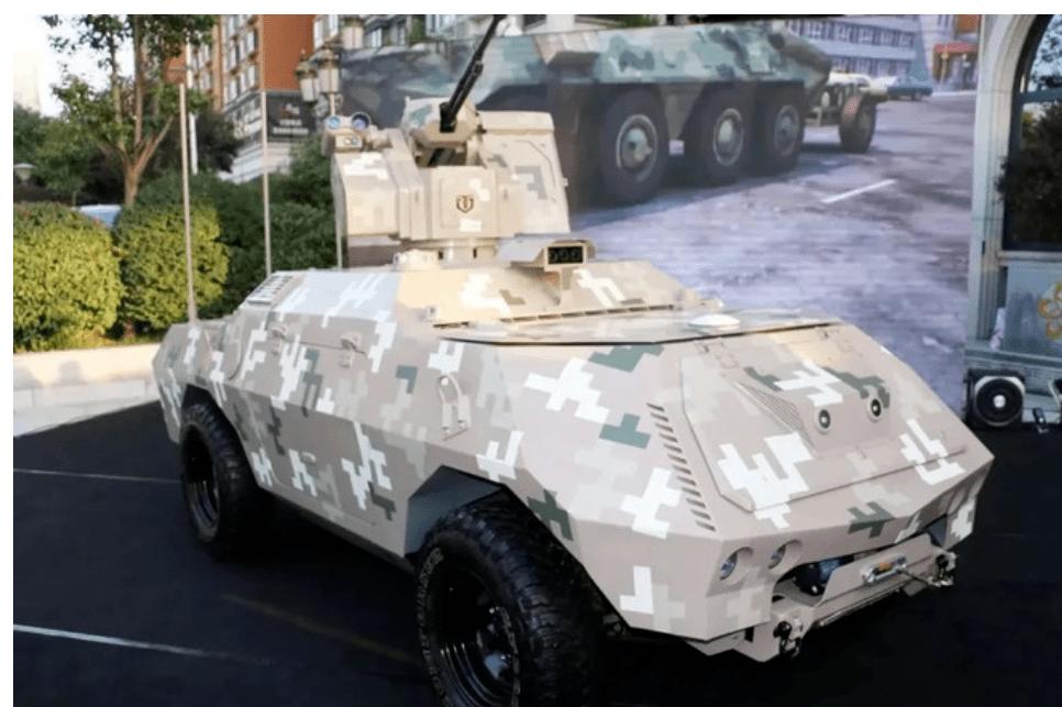 开脑洞:低成本巷战无人坦克