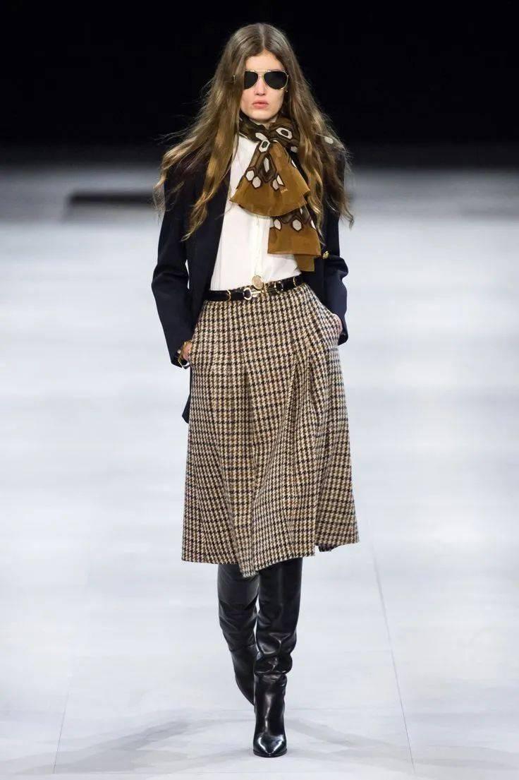 一条半裙,时髦入冬