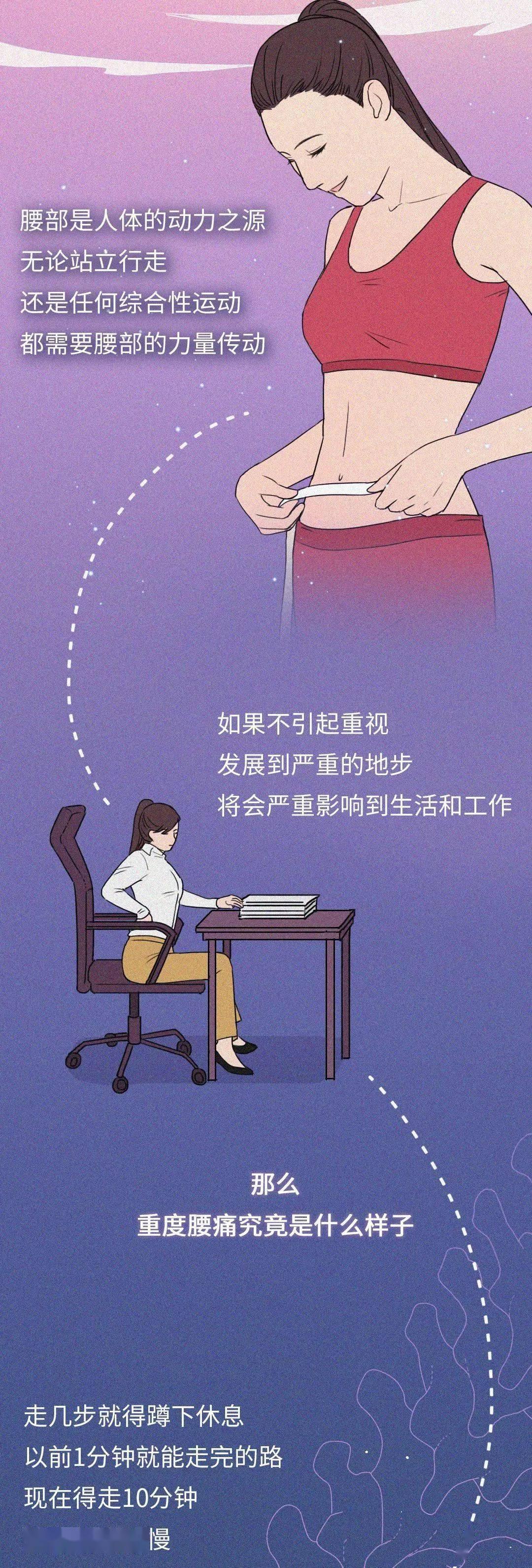 如何护理腰部