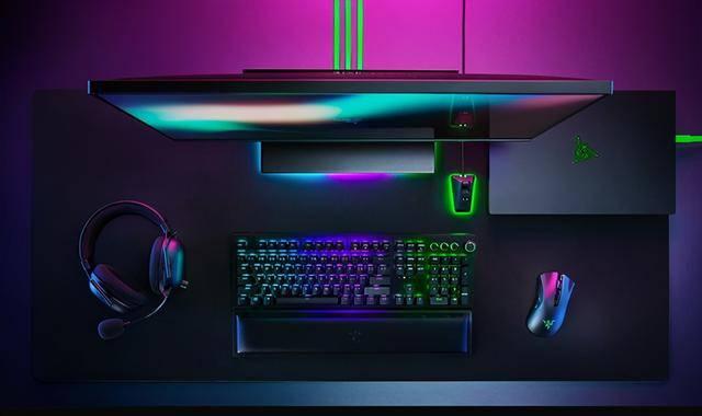 "Razer推出全套无线游戏设备,""灯厂""YES"