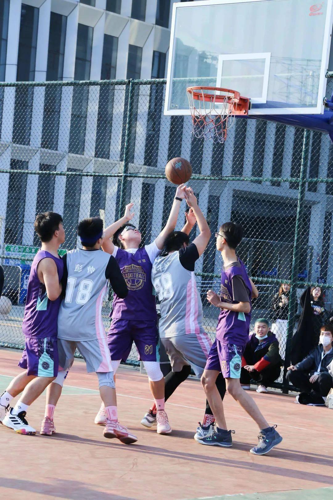 OD体育网页版_ 篮球赛 我院乐成举行2019级学生篮球赛(图1)
