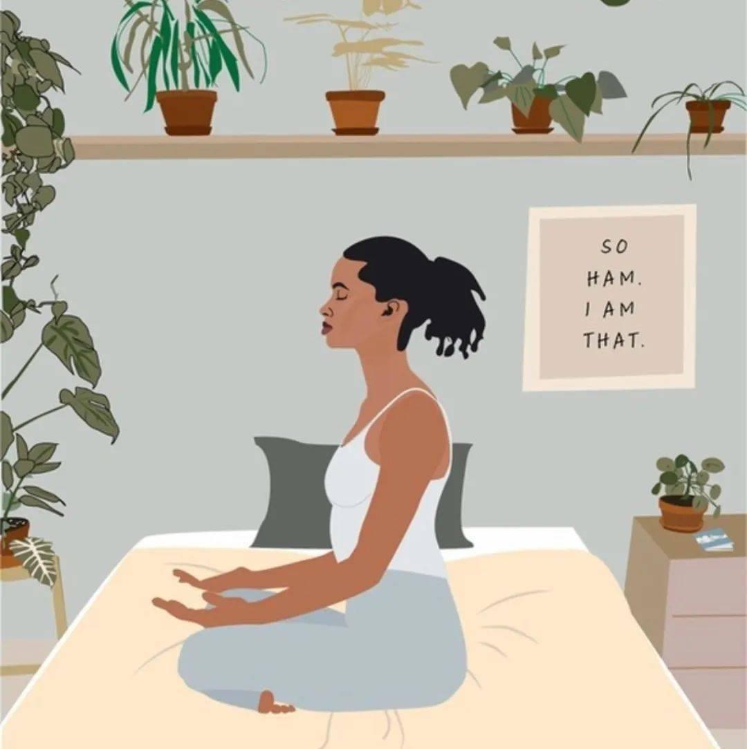 练瑜伽,【自律】是送给自己最好的礼物!