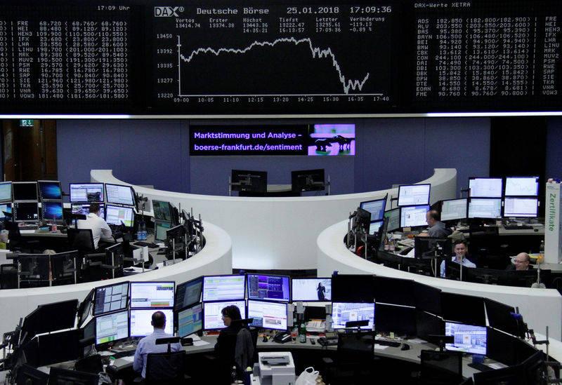 德国股市涨跌不一;截至收盘DAX30下跌0.51%