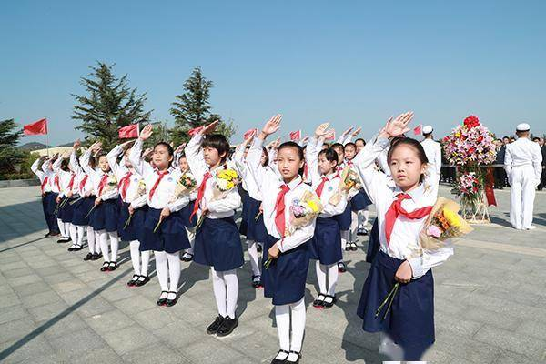 烟台开发区隆重举行向革命烈士敬献花篮仪式