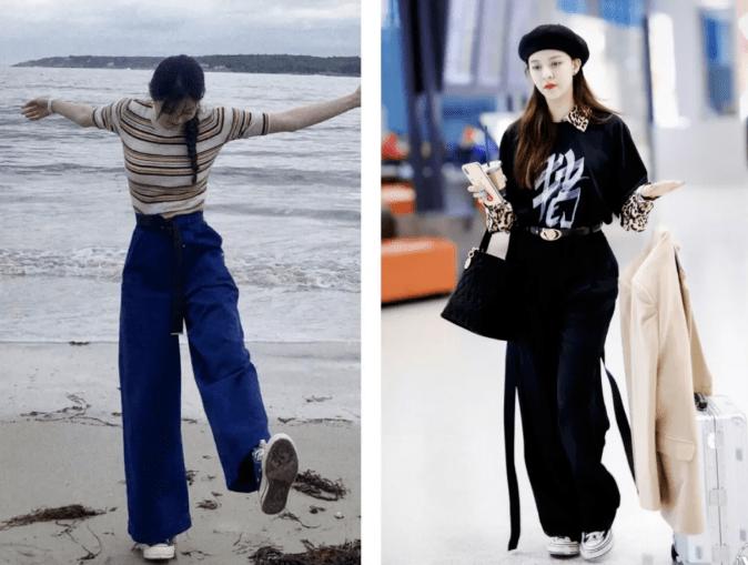 """今秋""""奶奶裤""""火了!显高还显瘦,比阔腿裤时髦100倍!"""