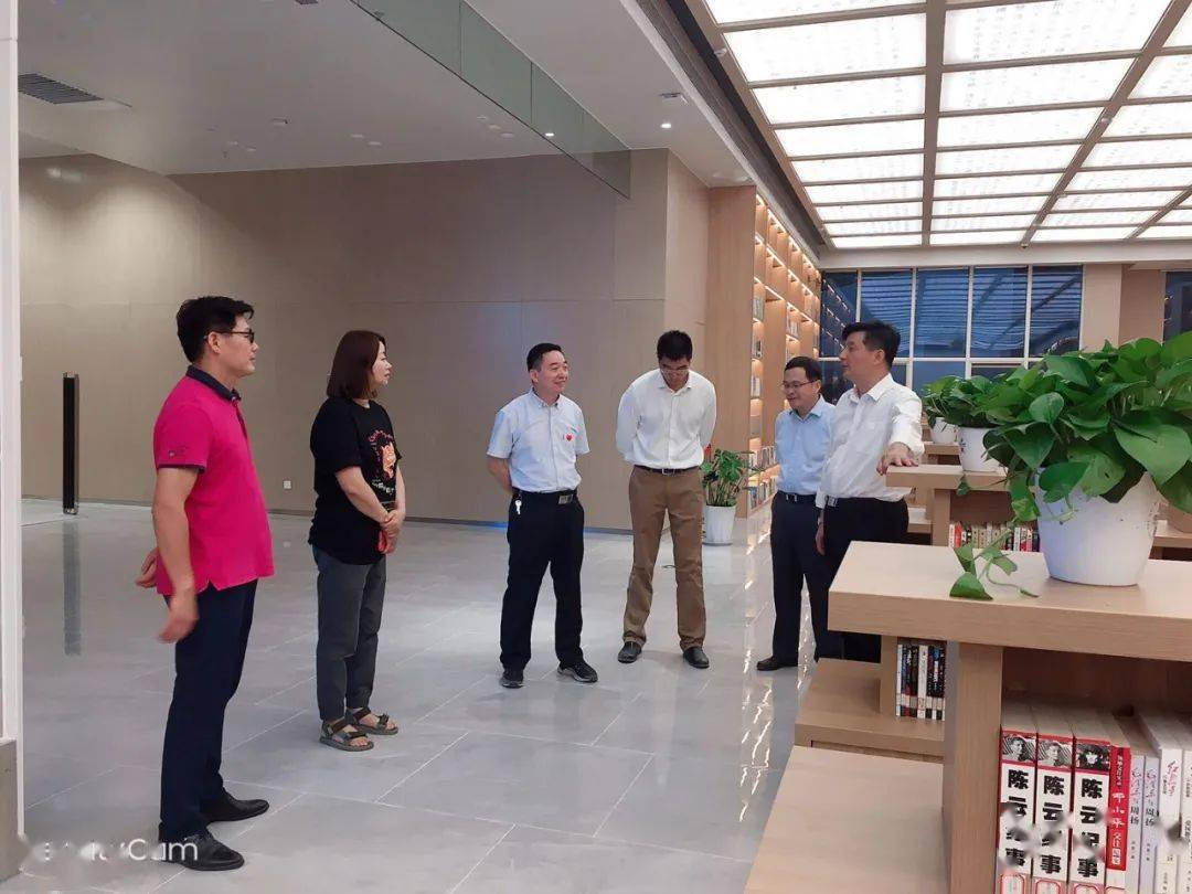 县领导调研涡阳文化艺术中心双节期间开放运营工作