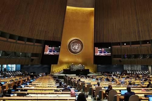反对单边强制措施!中国代表26国在联大批西方国家侵犯人权