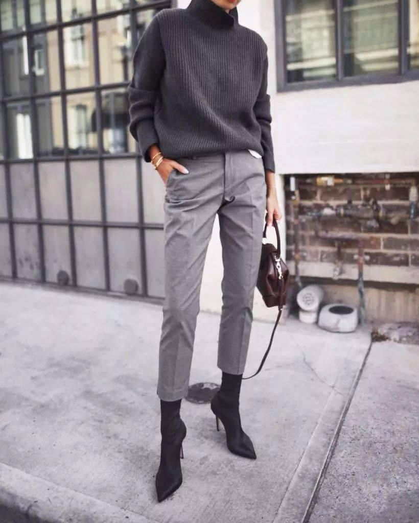 毛衣+牛仔裤、毛衣+阔腿裤…冬季最爆表穿搭方法!