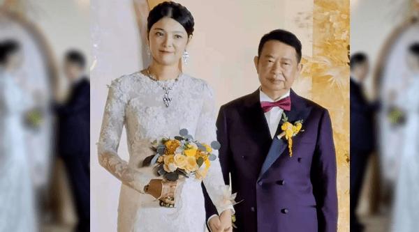 1500亿市值公司董事长二婚刷屏!小25岁的新娘是谁?新郎2月前将3亿元股票过户给儿子