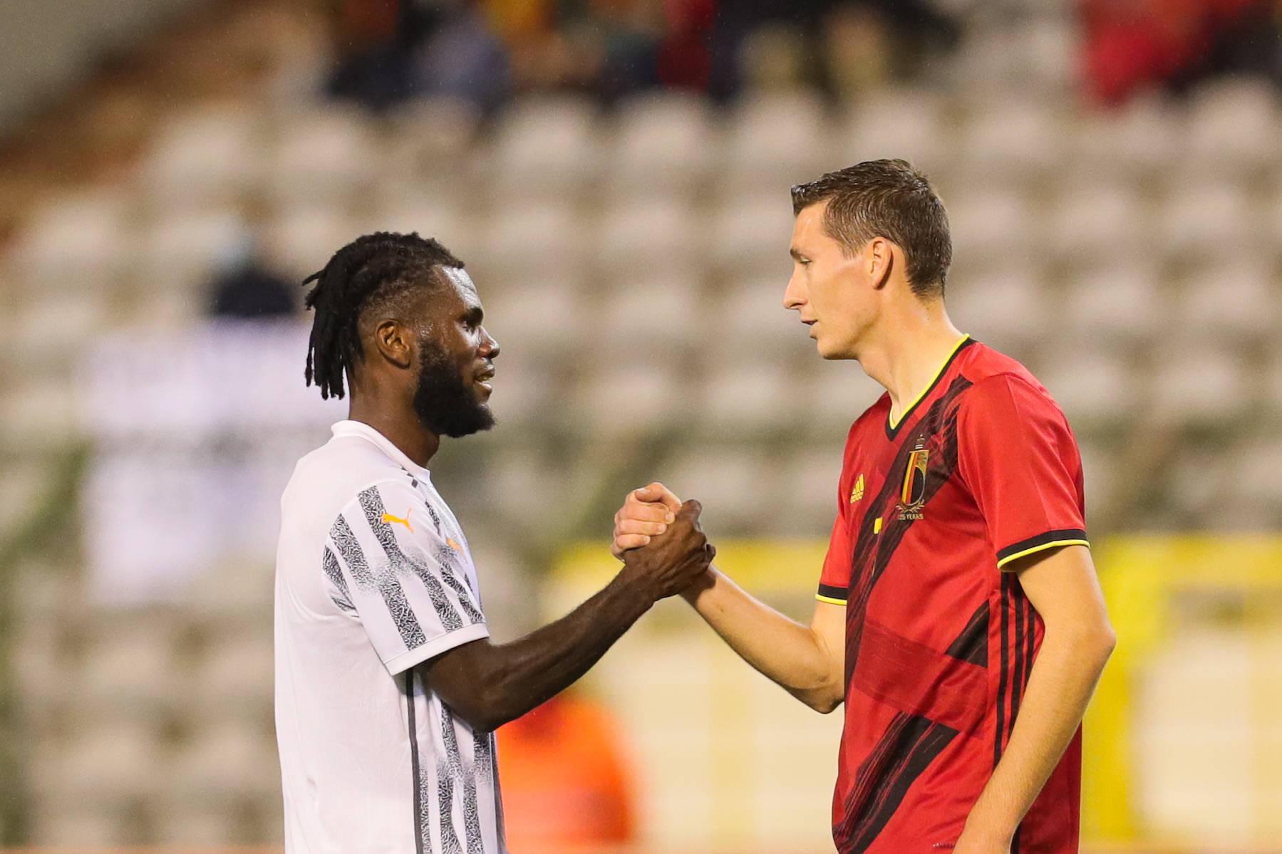 足球——国际友谊赛:比利时平科特迪瓦