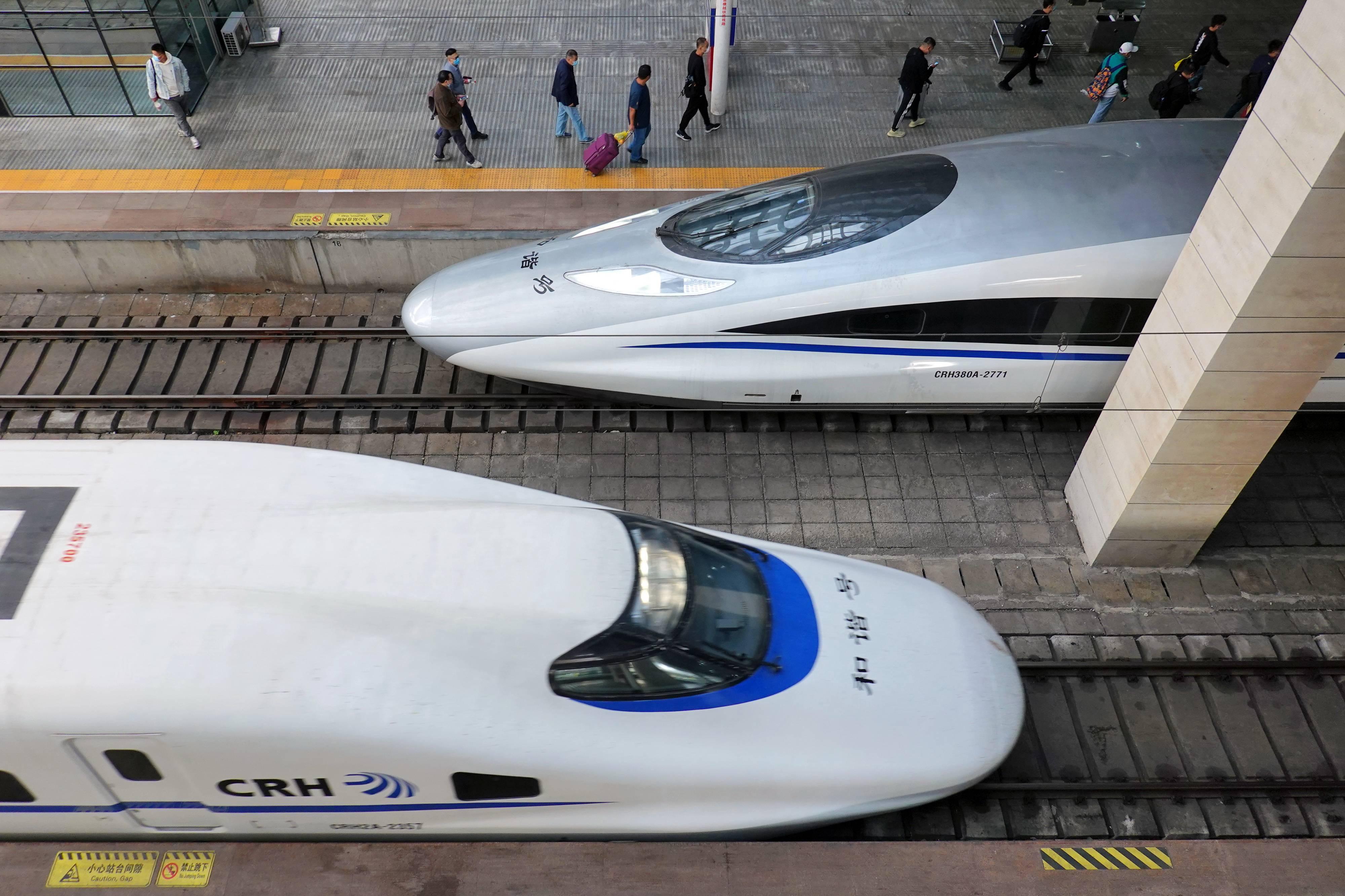武汉铁路新列车运行图