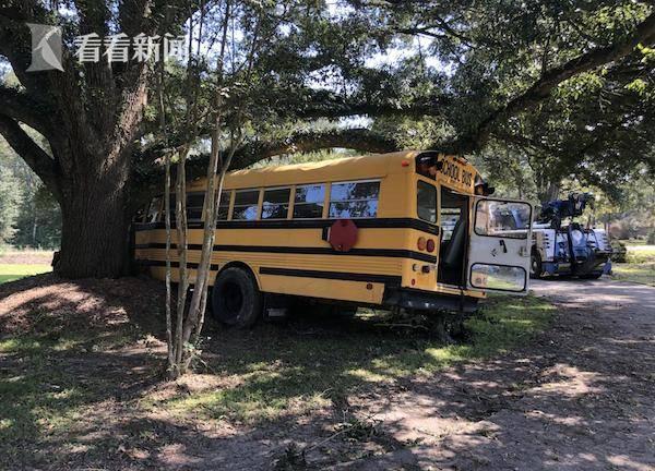 恒达官网美国11岁男孩偷走一辆校车 还同警方展开追逐战(图1)
