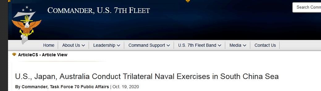 """美军南海新动作""""让地区所有国家受益""""?!"""