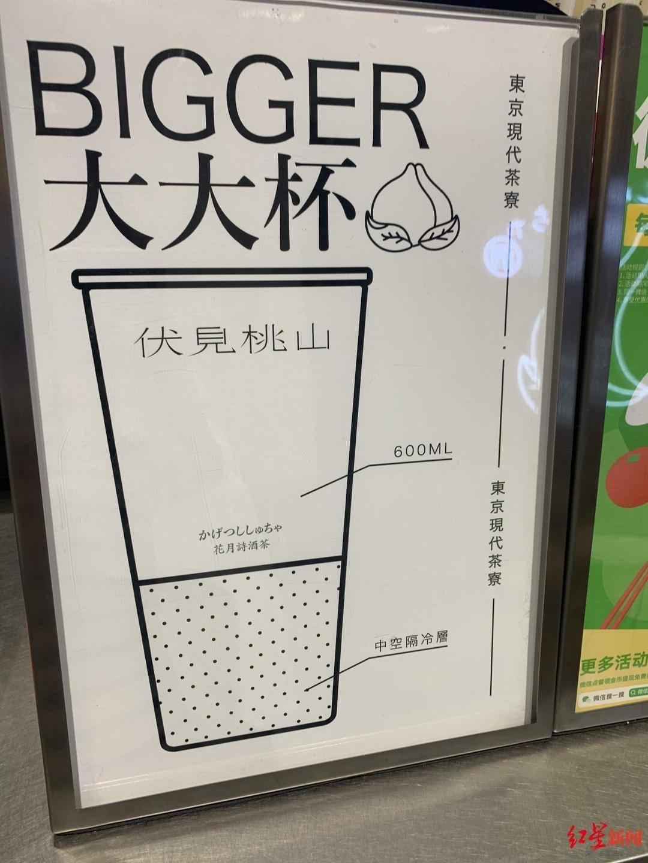 恒达官网网红饮品大杯约1/3是空的!店员:这是公司设计的中空隔冷层(图3)