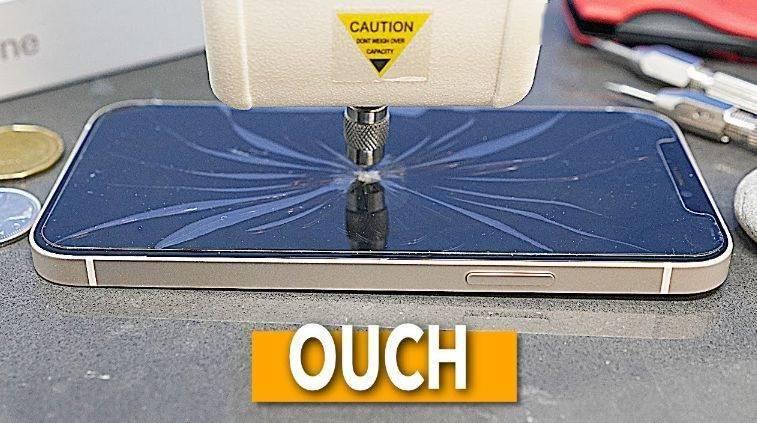 iPhone 12早期测试:超瓷晶面板比iPhone 11玻璃更坚