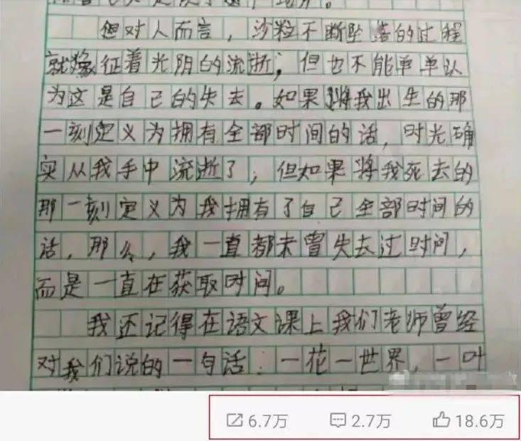 韩寒疯狂点赞转发:小学生如何写出让人惊奇的作文?