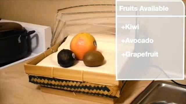 微软打造智能织物:当作桌布可识别食物、水果等