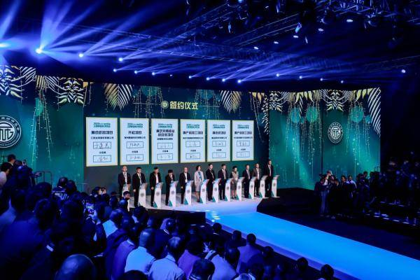 2020江西国际麻纺博览会现场签约项目投资52.2亿元