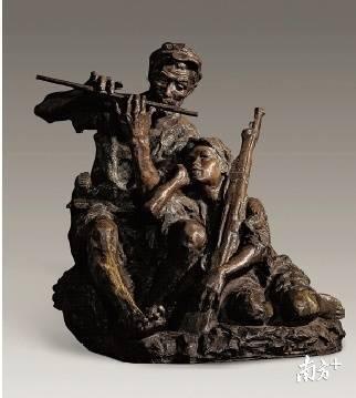 著名雕塑家潘鹤去世,5件作品概括了他的一生