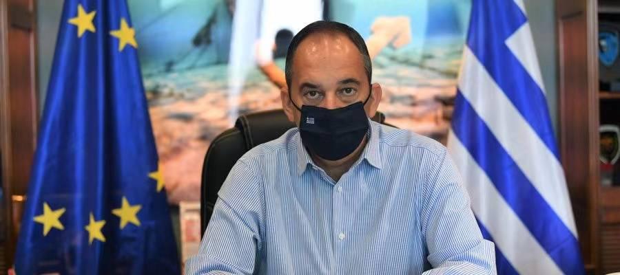 希腊海事与岛屿政策部部长感染新冠肺炎