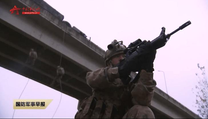 第71集团军特战旅年终考核,单兵装备