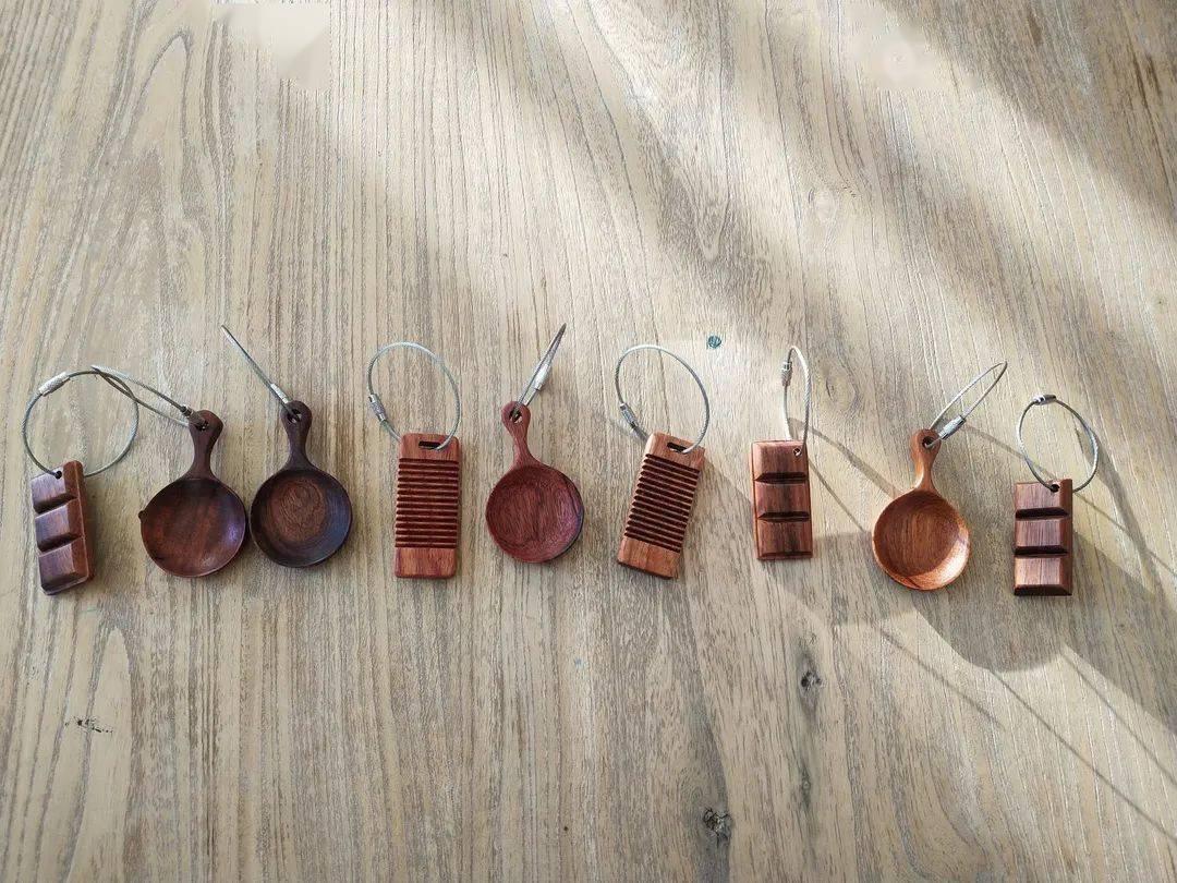 手工焊条钥匙扣图解