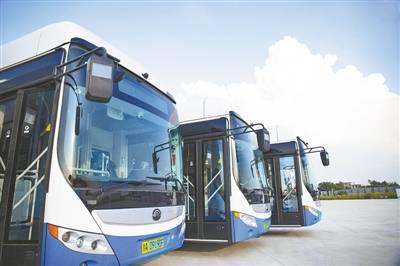新能源公交车 加大运力投放