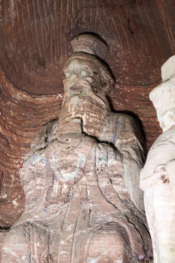 百事3首页安岳石窟发现明代龙王像,与《西游记》中东海龙王惊人相似