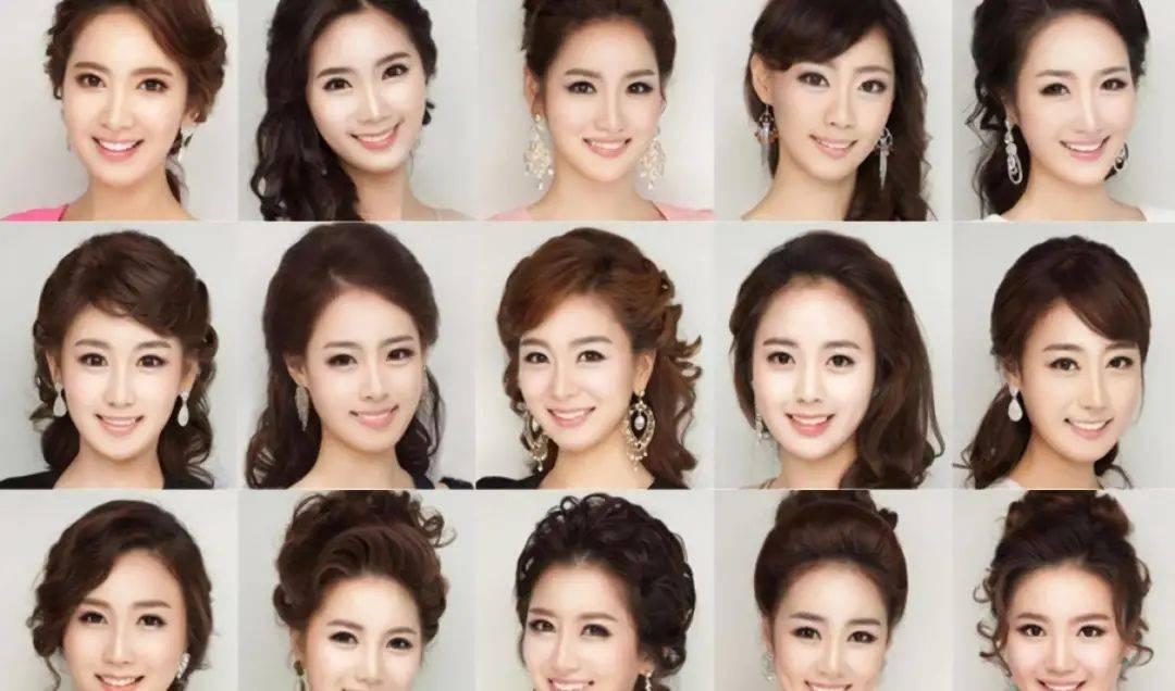 韩国整容美人