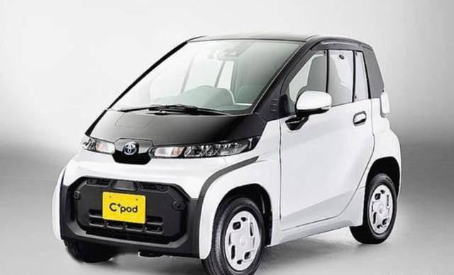 丰田的迷你电动车C荚比五菱洪光MINIEV小