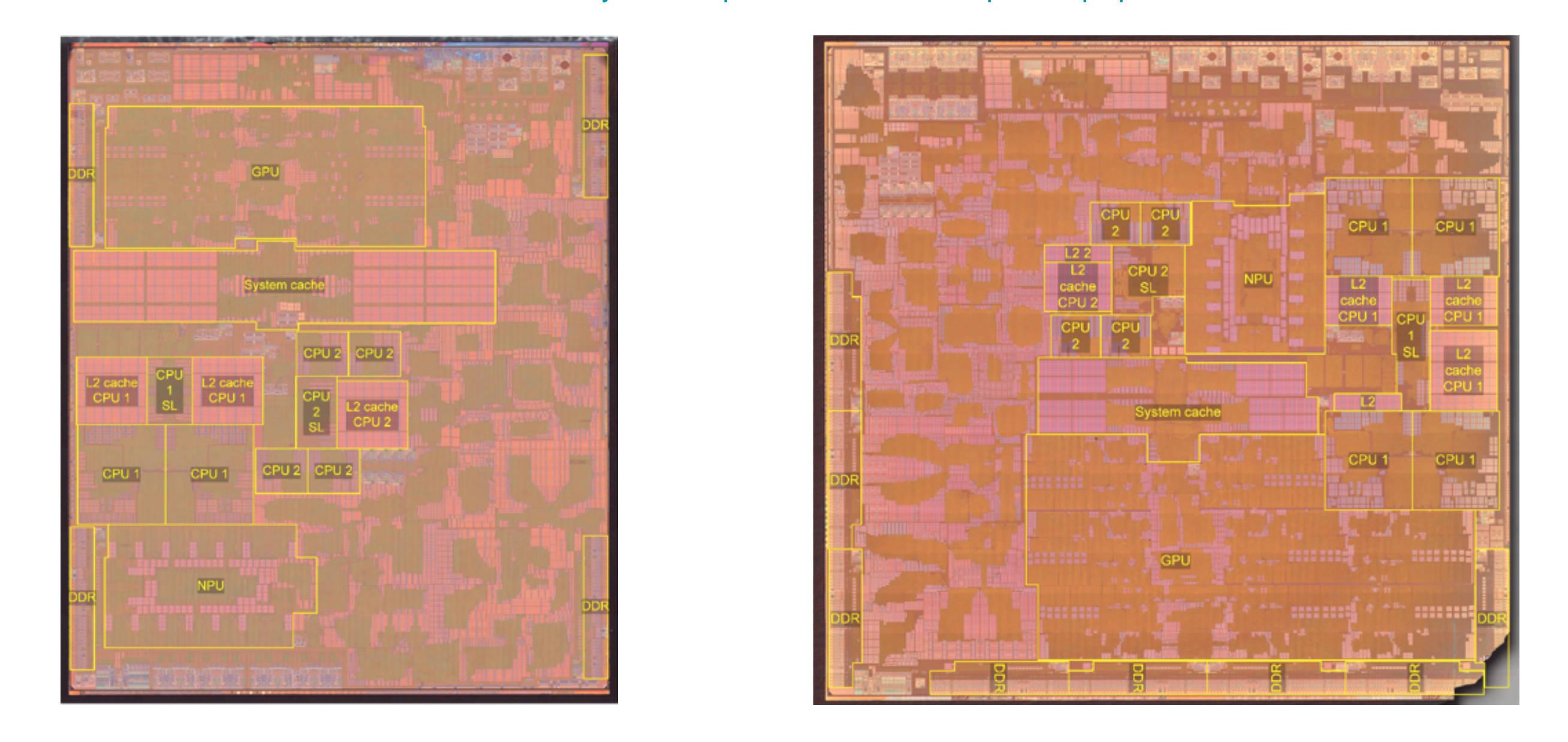 A14 和 M1 内核设计图释出:直观展示两枚芯片的差异