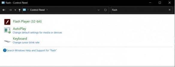 Win10下一次更新将永久停止Adobe Flash Player
