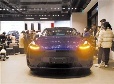 特斯拉交付电动汽车接近500,000低价模型Y压力测量当地品牌