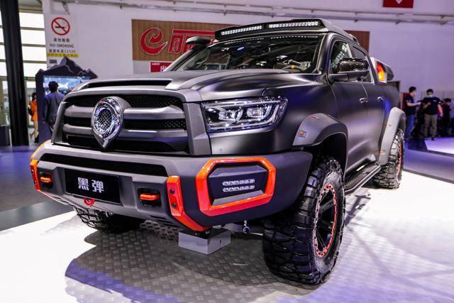2021年值得期待的国产皮卡、黑弹/新款D-MAX/ SAIC T90