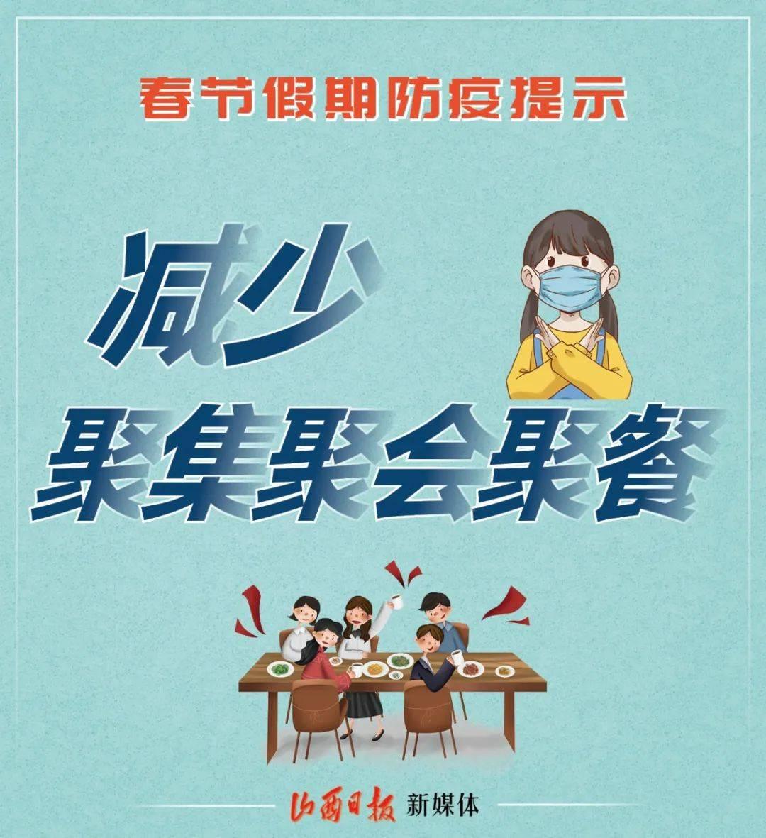 海报丨字不多,很重要!春节假期防控提示  第3张