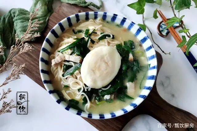 大冷天,每天一碗热汤面,好吃又舒坦,做圆荷包蛋,不飞不散  第16张