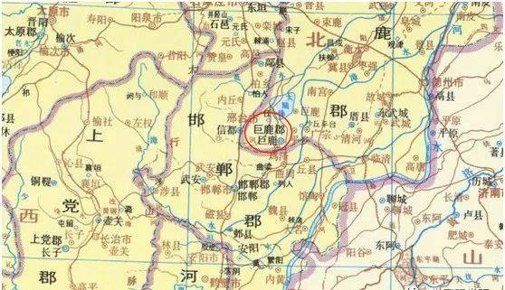 巨鹿县人口历史_巨鹿县地图