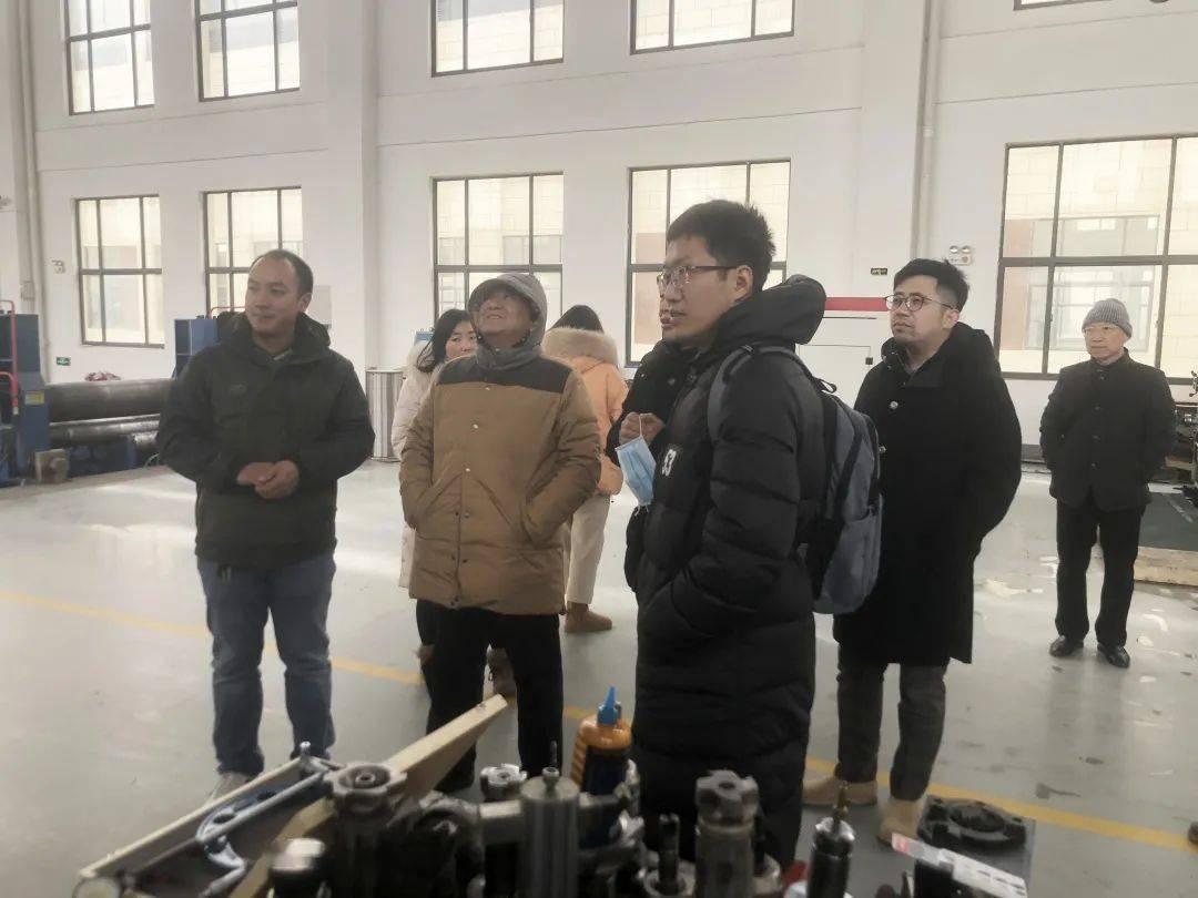 【园区动态】中国科学技术大学工程科学学院热科学与能源工程系夏维东教授一行来园区考察