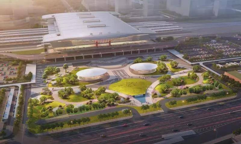 惠州北站效果图曝光!到深圳半小时,将打造高铁新城