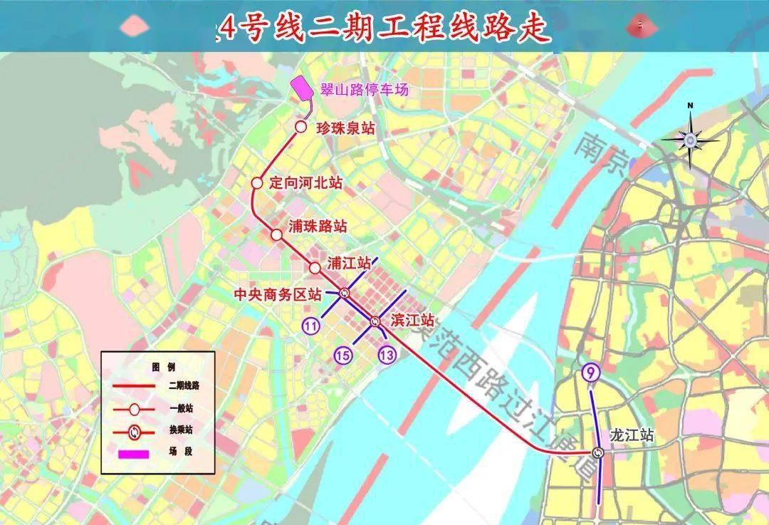 激动!江北又一条地铁来了,开工时间和沿线楼盘.....