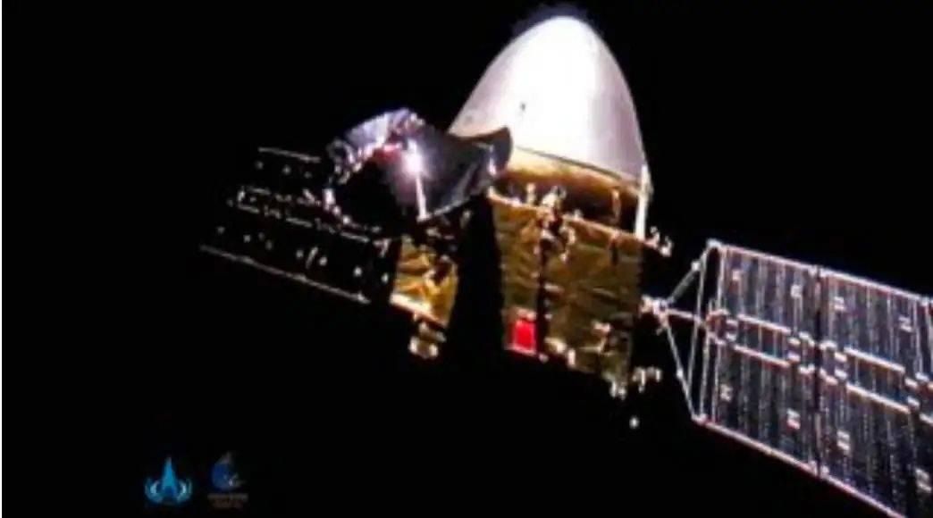 火星轨道开春晚 天问一号过大年  第1张